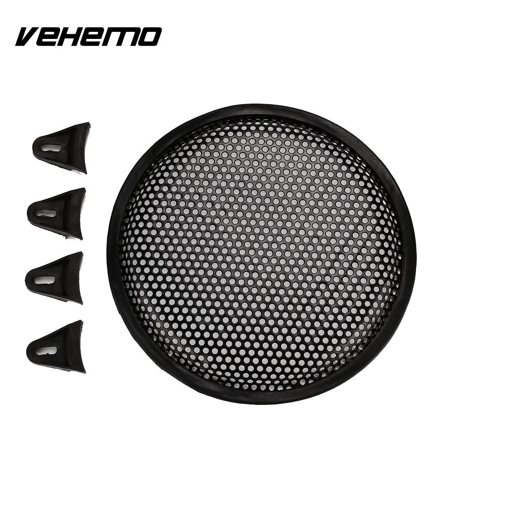 X AUTOHAUX Grill Cover 6.5 Mesh/Protector Car Speaker Cover Woofer Subwoofer Grill