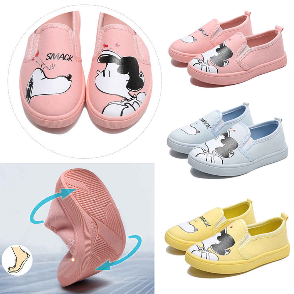 2018 Fashion Cute Casual Toddler Baby Girls Flat Shoes 3 Style Cartoon Girls Print Leather Baby Girls Shoes