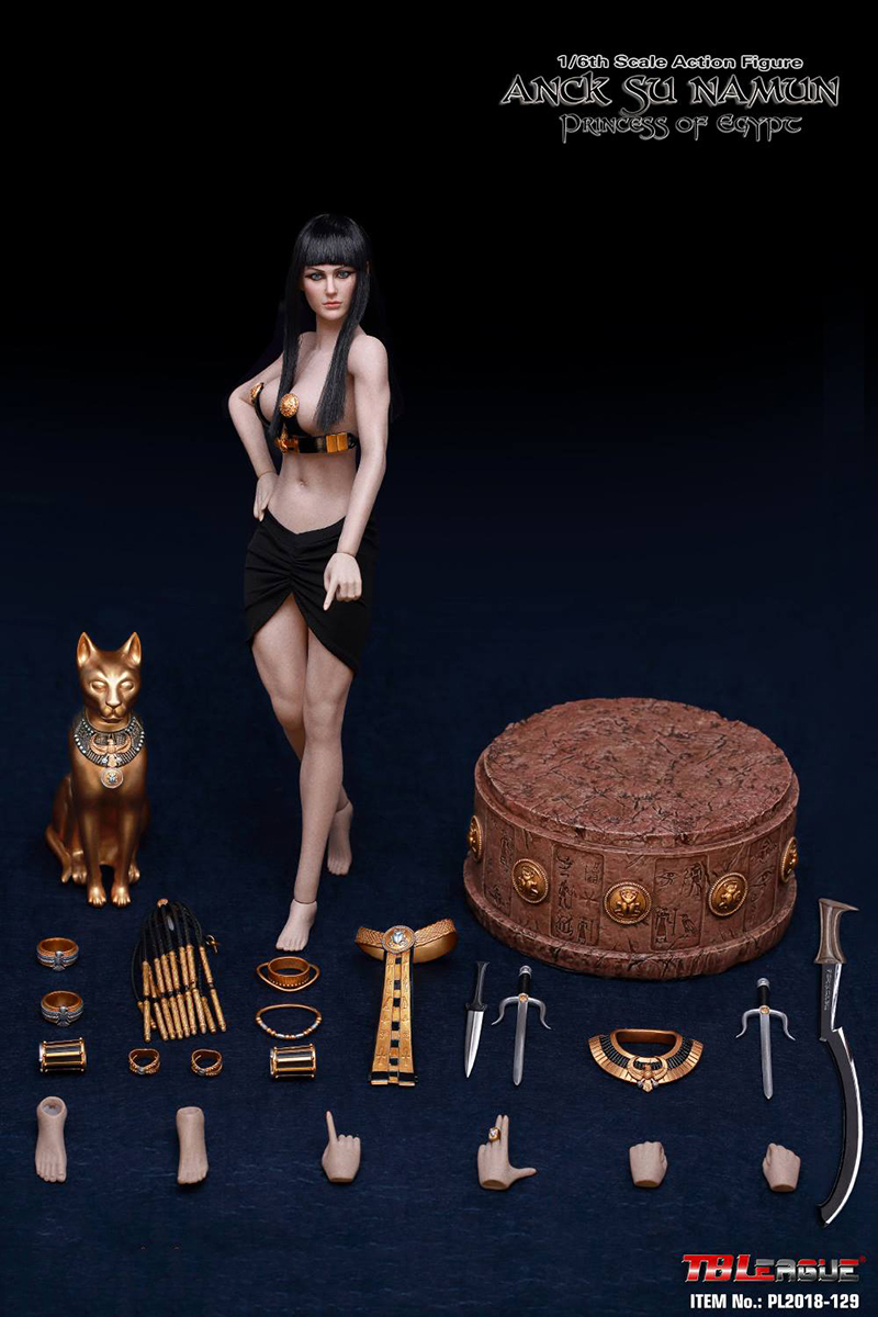 "For collection 1/6 TBLeague PL2018-129 Anck Su Namun Princess of egypt Action figure 12"" Full Set Action Figure 1"