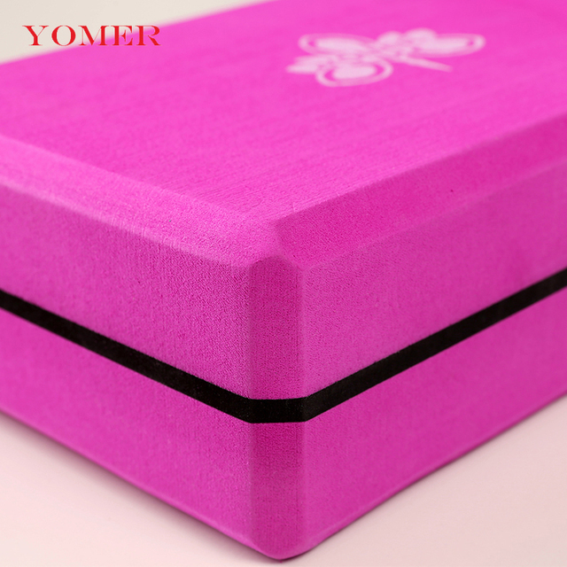 Yoga Blocks Foam Block Brick – Exercise Roller