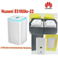 Lot of 200pcs Unlocked Original Huawei E5180 E5180as 22 4G LTE Cube WiFi Hotspot Router Home wireless Router,DHL shipping
