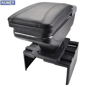 Image 1 - Universal Rotatable Top Car Center Centre Console Storage Box Armrest Arm Rest