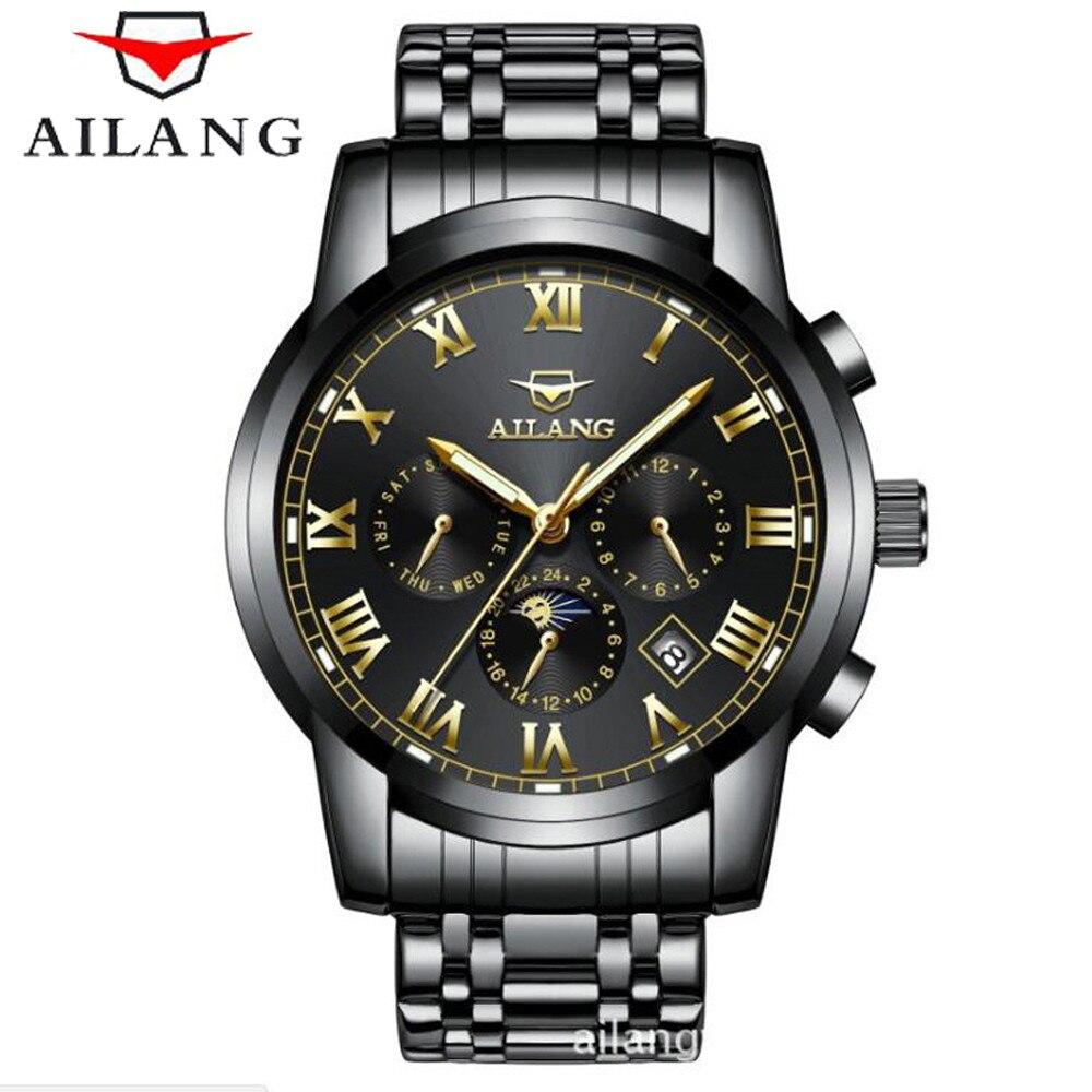 2017 AILANG Ceasuri pentru bărbați Top Brand de lux Mașină - Ceasuri bărbați