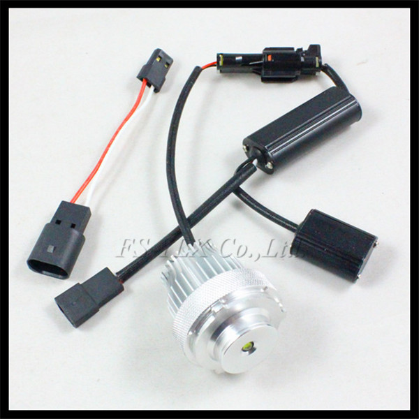 Car LED angel eye marker for BMW E60 E61 LCI 10W LED Angel Eyes Bulb for BMW E60 E61 Halogen Headlight Non-projector
