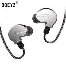 BQEYZ KB1 1BA 2DD смешанные наушники, Hi Fi басовые наушники для бега, наушники 0,78pin, Реверсивный кабель, гарнитура KC2 BQ3 V80 ZST ZSN T3 T2