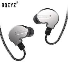 BQEYZ KB1 1BA 2DD écouteur mixte HIFI basse en cours dexécution écouteurs 0.78PIN câble réversible casque KC2 BQ3 V80 ZST ZSN T3 T2