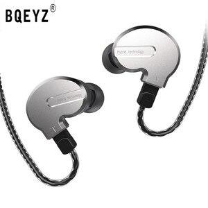 Image 1 - BQEYZ auriculares KB1 1BA 2DD variados HIFI para correr, auricular para audífonos de 0,78 Pines, Cable Reversible, KC2 BQ3 V80 ZST ZSN T3 T2