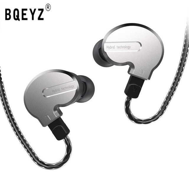 BQEYZ auriculares KB1 1BA 2DD variados HIFI para correr, auricular para audífonos de 0,78 Pines, Cable Reversible, KC2 BQ3 V80 ZST ZSN T3 T2
