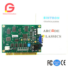 Classical Arcade Video Game 60 In 1 Pcb Jamma Board Cga/vga Output 19 in 1 horizontal multicade multigame game board pcb circuit board for jamma video game