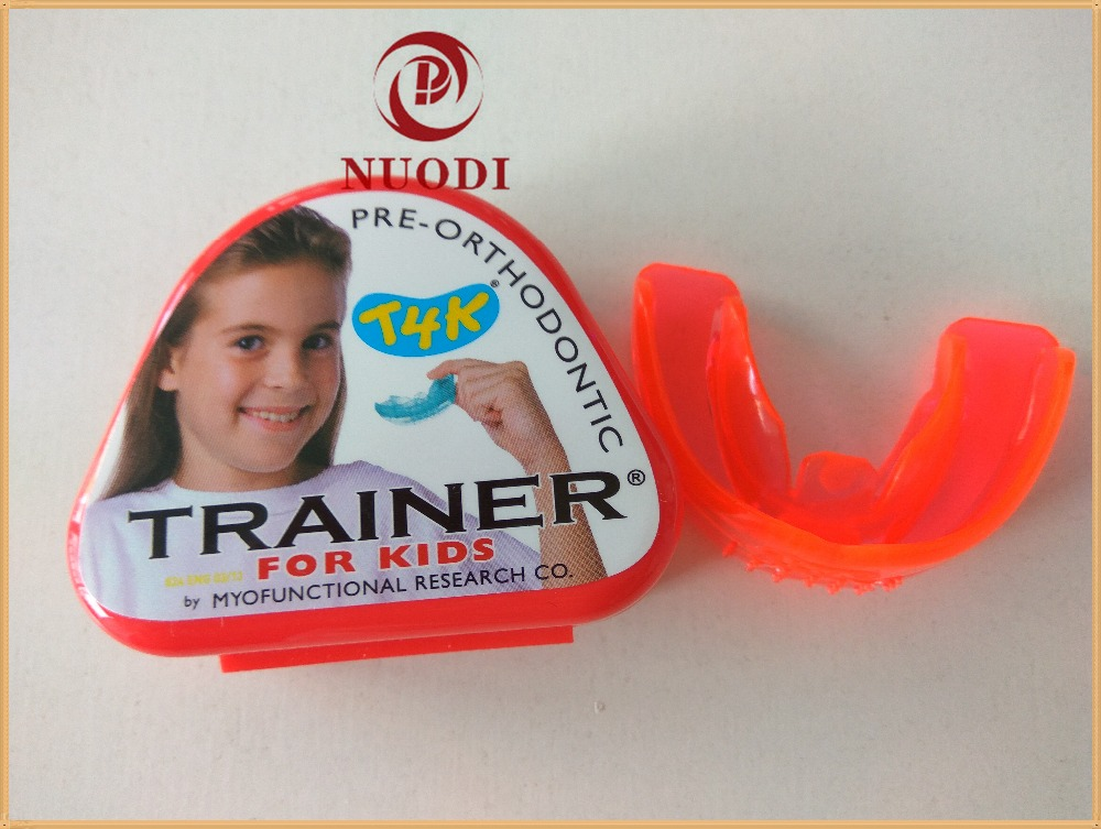 T4K Pre-Orthodontic Trainer for Kids/MRC Teeth Trainer for Open bite/T4K Red Trainer for Deep Bite