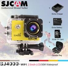 Original SJCAM SJ4000 wifi 2.0 waterproof Action Camera Diving 30M 1080P Full HD Underwater Sport Cam Sport DV SJ 4000 wi fi 2.0