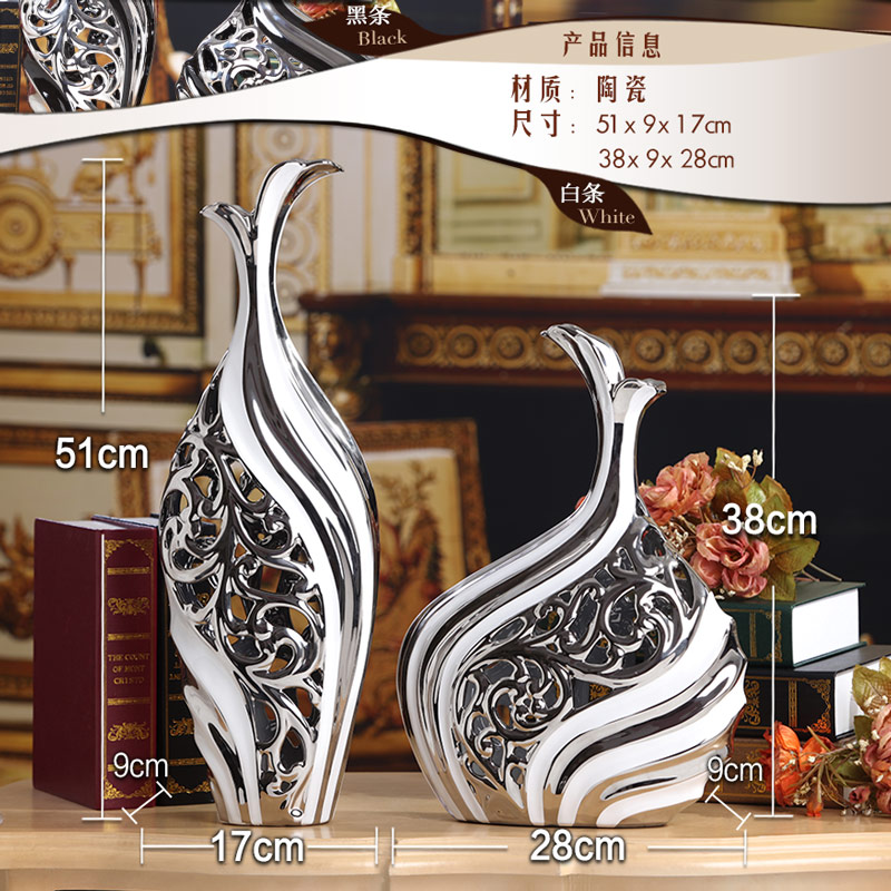 home decoration accessories television cabinet living room entrance Home Furnishing wine pottery modern minimalist style