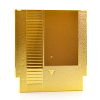 Gold Plated 72 Pin Game Card Shell For NES Cover Plastic Case For NES Game Cartridge