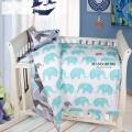 Baby bedding sets 3pcs/set crib bedding kids bedding set include flat sheet duvet cover pillowcase for girls and boys