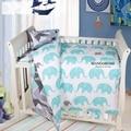 Conjuntos de cama bebê 3 pçs/set berço cama crianças conjunto de cama incluem capa de edredão folha plana fronha para meninas e meninos