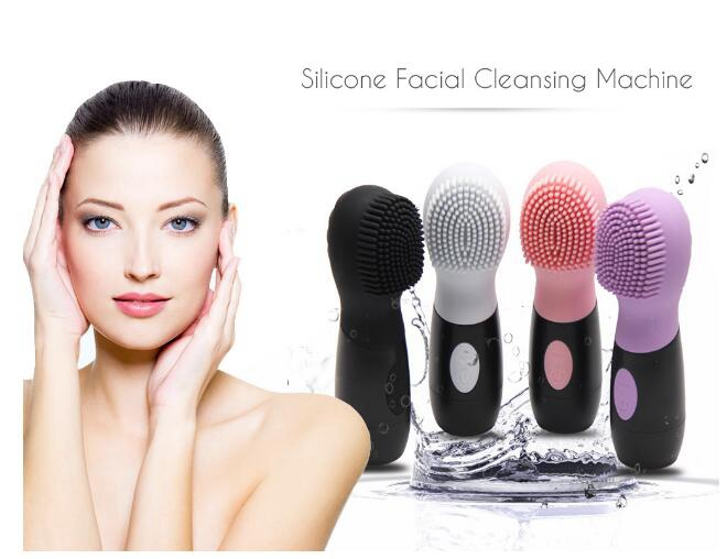 High grade silicone cleanser, face massager, vibration cleaner, body wash beauty instrument, face cleansing instrument electric 3d silicone massage ultrasonic facial cleansing brush beauty instrument pores cleaner face vibration spa usb recharge