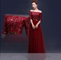 Бесплатная доставка цвет красного вина выпускные Длинные платья для вечеринки вечерние платья Robe de soiree vestido de casamento longo com TK495