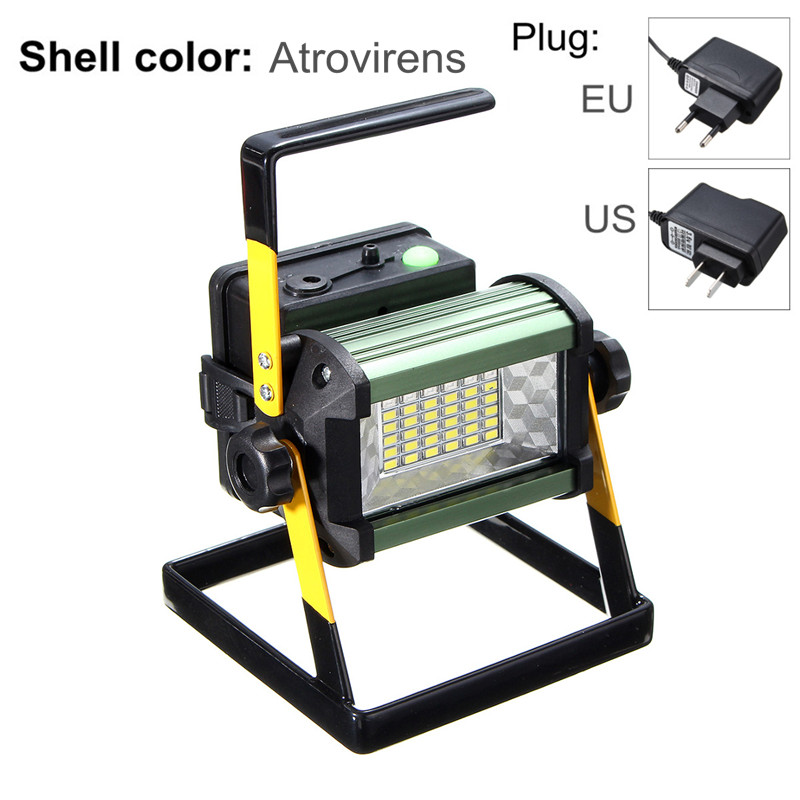 4 Modes 50W 36 LED Floodlights Rechargeable LED Flood ...
