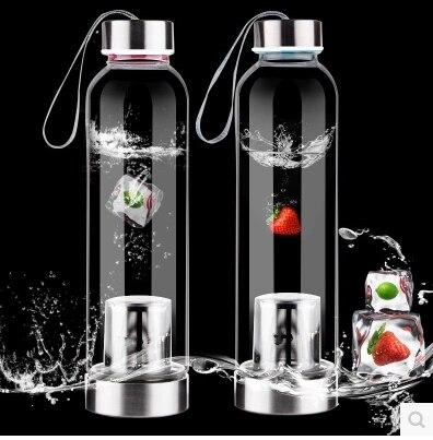 Ingyenes szállítás 550ml vizes palack, magas boroszilikát üveg, - Konyha, étkező és bár