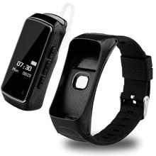 Умный Браслет Фитнес-Трекер Bluetooth Вызова Браслет монитор Сердечного Ритма Смарт-Ремешок Водонепроницаемый для Iphone Android PK ID107