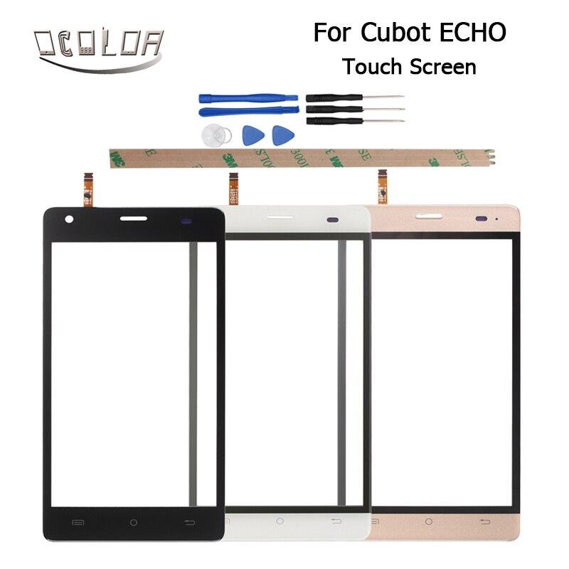 imágenes para Para Cubot Eco Sensor de Lente de la Pantalla Táctil Original de Reemplazo Del Panel Táctil Móvil Accesorios + Herramientas Para Cubot Eco Envío Libre