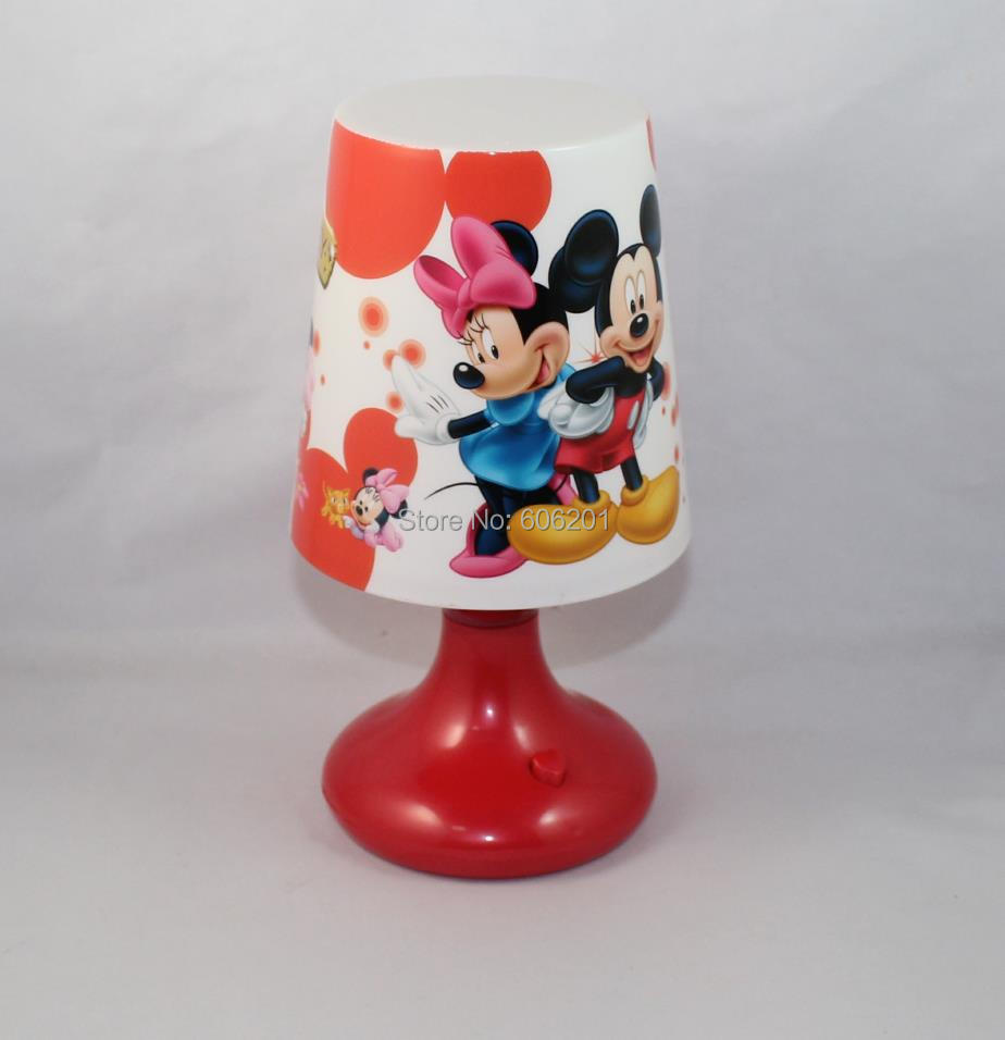 Light meals picture more detailed picture about cartoon cartoon mickeyminnie mouse usb battery led desk night lightscolor chaning study beside bedroom table geotapseo Gallery