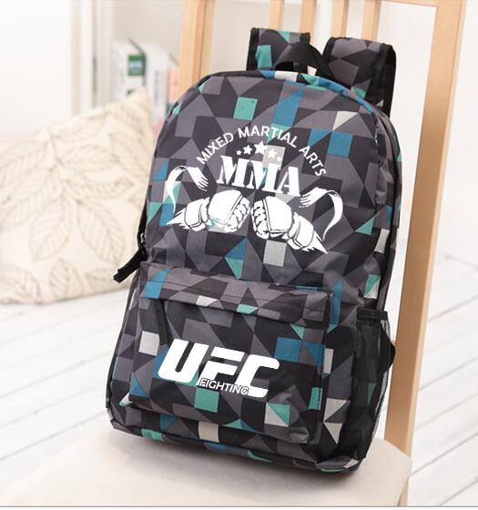Mma Backpack Box Ing Shoulder Ufc Memory Gifts Daypack For Friends 2018 Fashion Bag In Backpacks From Luggage Bags On Aliexpress Alibaba Group