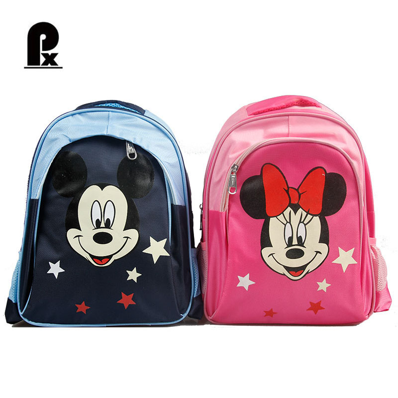 2018 New Style Children Mickey Bag Primary School Student Backpack Lovel School Bags for Boys and Girls Mochila Infantil mickey minnie boys girls children school bag cute baby toddler shoulder bag primary student school bag mochila infantil