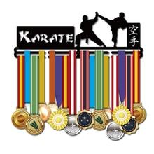 Medal hanger for Karate Metal martil arts medal holder 32~45 medals