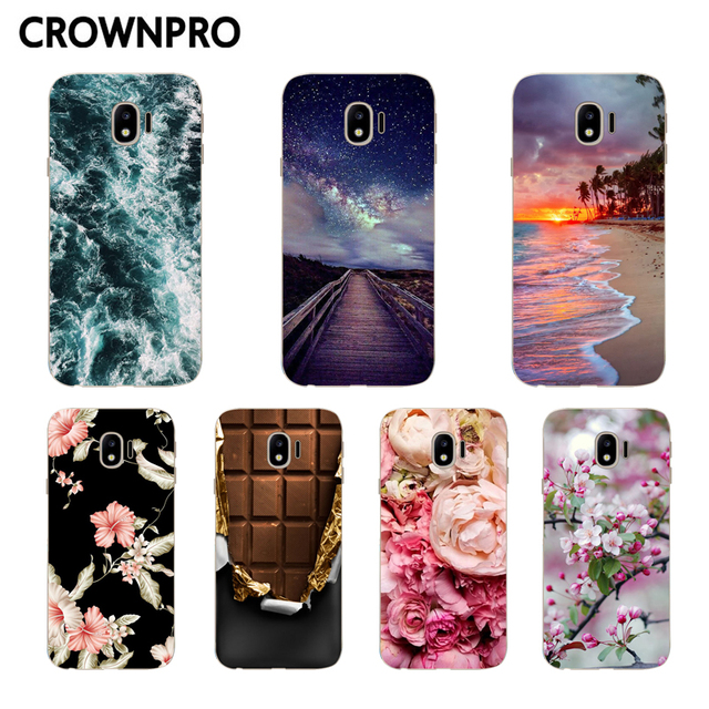 purchase cheap 91346 2ca5f US $0.96 20% OFF CROWNPRO J2 PRO 2018 J250F Case FOR Samsung Galaxy Grand  Prime Pro 2018 Silicone Back Covers FOR Samsung J2 PRO 2018 Phone Case-in  ...