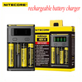 Hot new style digicharger nitecore i4 18650 carregador de bateria universal para aa aaa 26650 14500 li-ion baterias de lítio de carregamento