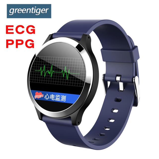Greentiger B65 Smart Watch ECG PPG Blood Pressure Heart Rate Monitor Sport Smart Bracelet Fitness Tracker