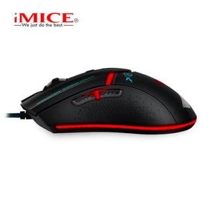 Image 5 - IMICE Professionale Wired Gaming mouse 3200dpi USB Mouse Ottico 6 Bottoni Mouse Del Computer Gamer mouse Per PC Del Computer Portatile X8