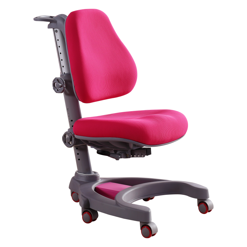 Kids Desk Writing Chair Student Household Study Stool Lifted Slidable Corrective Sitting Posture Chair Adjustable Stable Seat