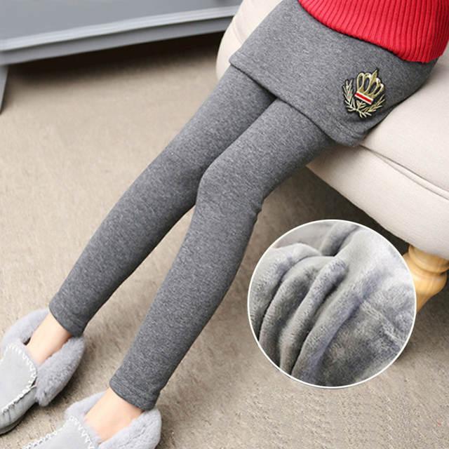 337a59c2f placeholder 2018 Nova Menina do Inverno Legging Saia Pant Baby Girl Inverno  Quente Espessamento Leggings Crianças Meninas