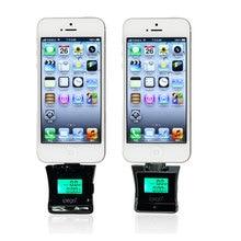 Профессиональный высокое качество мобильного телефона тестер спирта жк тестер спирта дыхания для iphone samsung htc mi мини алкотестер