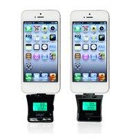 Profissional de alta qualidade celular verificador do álcool da respiração lcd alcohol tester para o iphone samsung htc mi mini bafômetro
