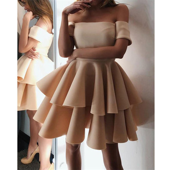 New Homecoming dress Short V-Neck Appliques Cocktail party dress Draped Above Knee Mini Short Homecoming dresses фото