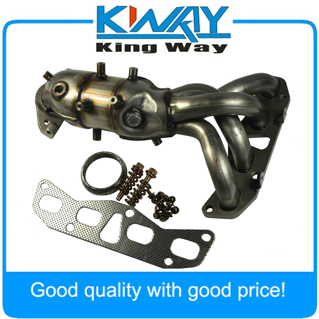 New Exhaust Manifold With Catalytic Converter Fit For Nissan Altima 2.5L  2002 2006