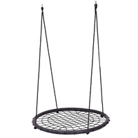 Garden 40 Kids Tree Round Play Patio Swing Chair Net Outdoor Furniture High Quality OP3511