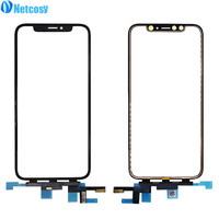 Netcosy Touch Screen Digitizer Glass Lens Panel For iPhone XS Outer Screen Glass Touch Panel Replacement parts