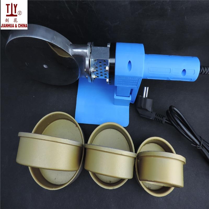 Saldatrice CA 220V 1200W 75-110mm tubi PPR, saldatore tubo plastica - Attrezzatura per saldare - Fotografia 4
