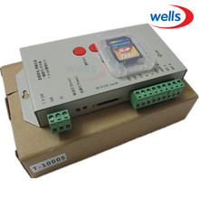 Original T1000S Full Color Controller For WS2811 WS2801 WS2812B LPD8806 6803 1903 Digital LED Strip,Reject cloning controller original controller hes 25 2mhc