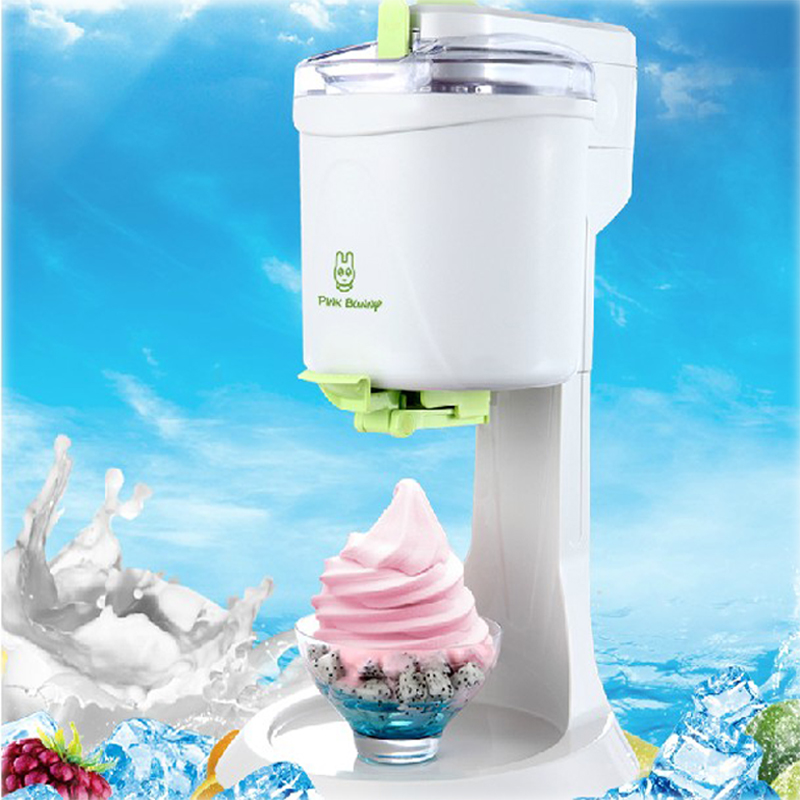 1L Desktop Ice Cream Machine Household Automatic Hard Cone Ice Cream Machine Large Capacity DIY Fruit Ice Cream Maker BL-1000 220v 21w diy fruit ice cream machine home desktop automatic hard cone ice cream machine 1l large capacity ice cream cone machin