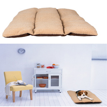 Winter Warm Dog Bed Kennel Cat Mat Dog Mattress Pad for Large Dogs Pet Cushion Machine Washable Dog House Bed Cat Nest