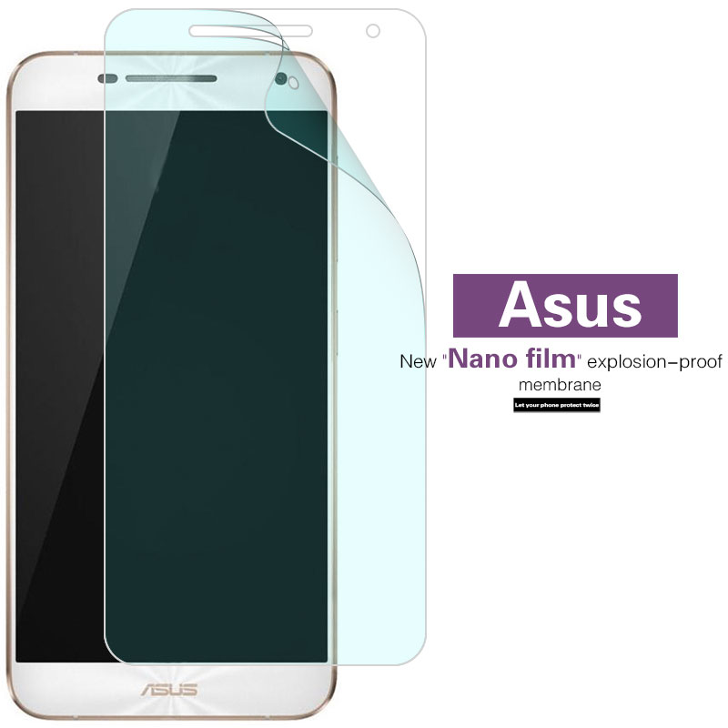 Soft TPU Film For <font><b>ASUS</b></font> <font><b>Zenfone</b></font> <font><b>Pegasus</b></font> 2 PLUS X550 4S 5000 X005 X002 <font><b>3</b></font> <font><b>X008</b></font> 4A ZB500TL <font><b>Screen</b></font> Protector Nano Film (not Glass) image