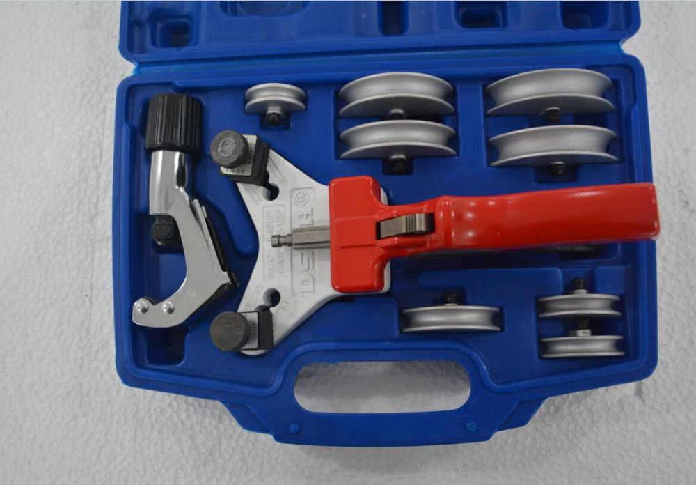 WK-666 multi cuivre cintreuse tube Bending Tool Kit Tube Cutter en aluminium E