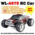 WLtoys A979 High Speed Off Road Remote Control Car Electric Racing Car Models Stunt Car 1:18 Scale Rc Car 4wd
