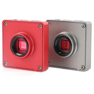 Image 4 - 3.5X7X45X90X37 MP HDMI USB kamera wideo filar przegubowe ramię zacisk Simul  ogniskowej przemysłowe trinokularnej mikroskop stereo