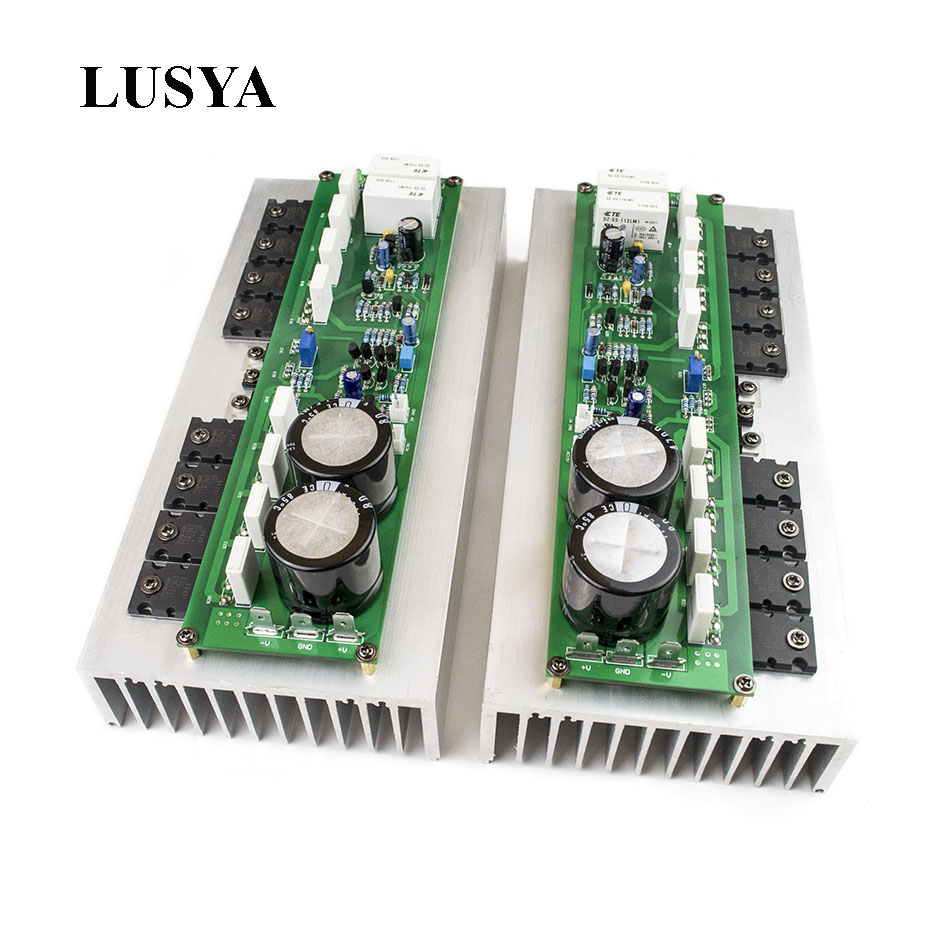 Lusya PR 800 Class A B Professional Stage Amplifier Board Household 1000W High Power Amplifier Product